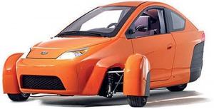 خودرو سه چرخ جدید در راه بازار/ دوچرخ در جلو،یک چرخ در عقب