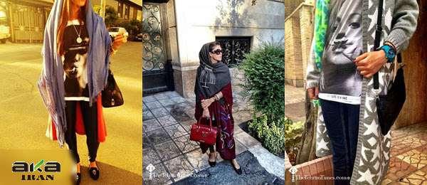 عکس های دختران بدحجاب و ساپورتپوش تهران
