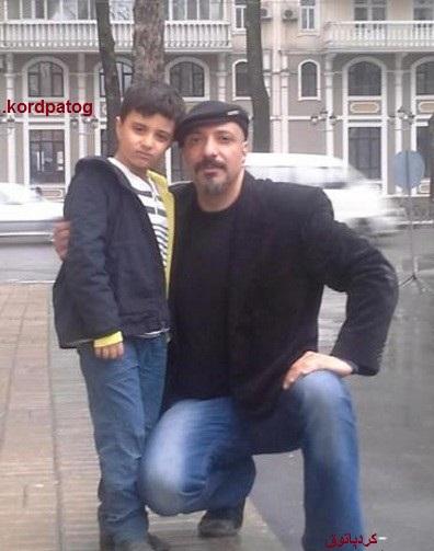 عکس های امیرجعفری درکنار پسرش