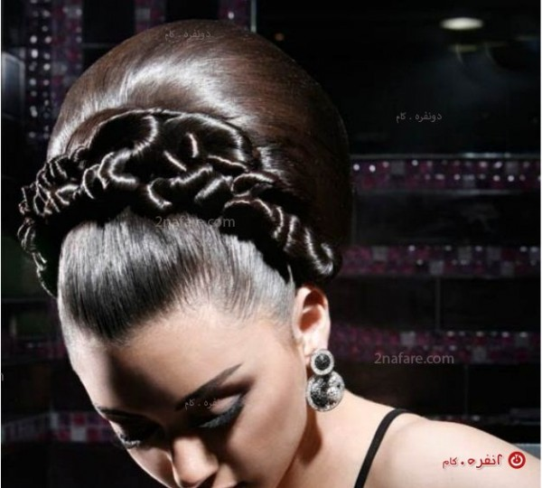 مدل مو ی جدید و زیبا برای عروس ایرانی
