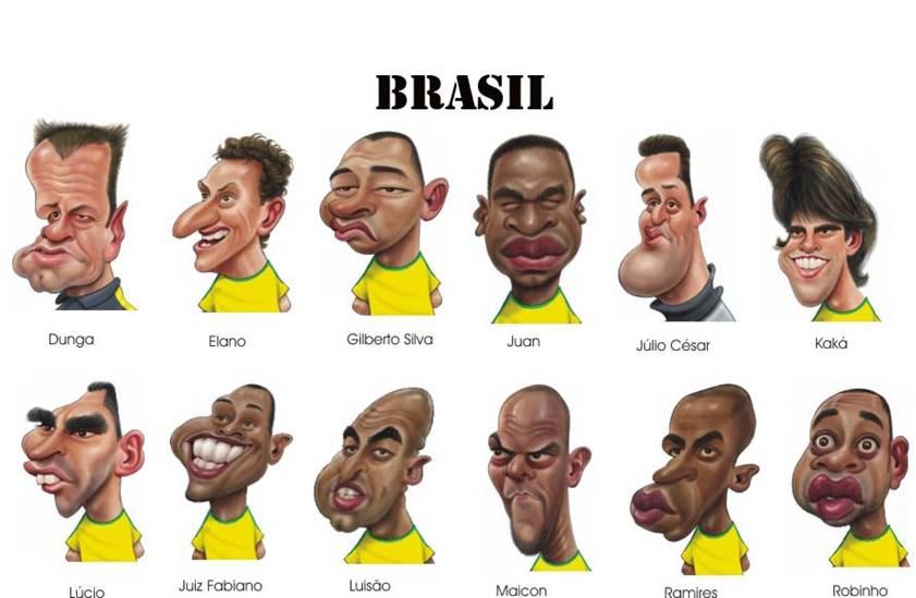 کاریکاتورهای زیبا از ستارگان تیم های فوتبال واقعا جالبه
