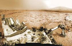سن سنگهای مریخی تعیین شد . نجوم