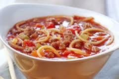 طرز تهیه سوپ اسپاگتی خوشمزه