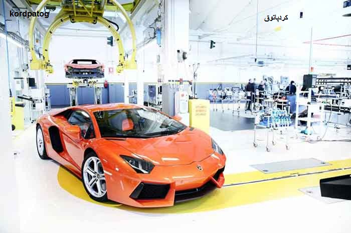 تصاویری از کارخانه خودروسازی لامبورگینی - آکا