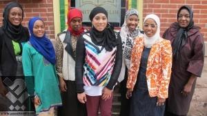 نمايش حجاب و پوشاك اسلامی در فيلادلفيا + تصاویر