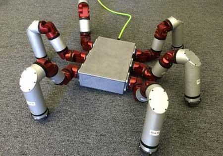 ربات ۶ پا برای عملیات نجات+تصاویر