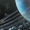 شواهد قوی از وجود آب در قمر زحل -