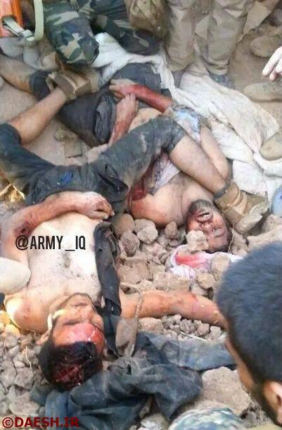 هلاکت شماری از داعشی ها توسط نیروهای ویژه ارتش عراق،  +۱۸