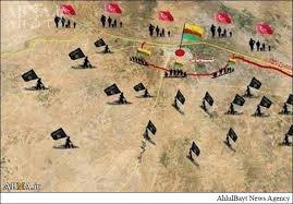 چند قدم تا ازادی کوبانی/تسلط ۹۰ درصدی پیشمرگه و نیروهای کرد سوری بر کوبانی