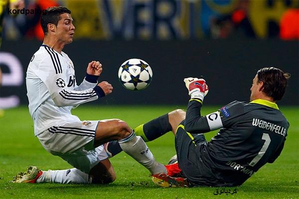 تصاویر دیدنی از مسابقه فوتبال دورتمند و رئال مادرید