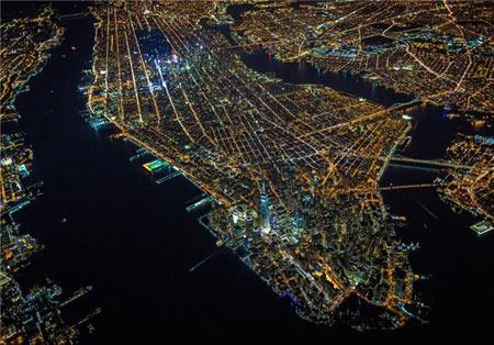 تصاویری از شب های روشن وسیع ترین شهر دنیا