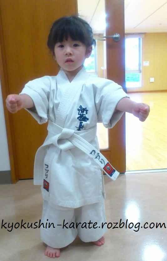 بچه های رزمی کار کیوکوشین کاراته