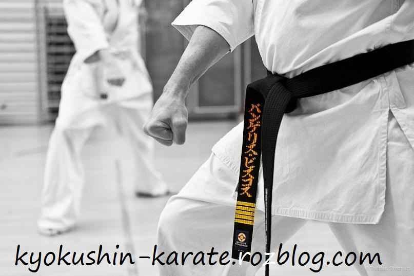 کمربند کیوکوشین کاراته