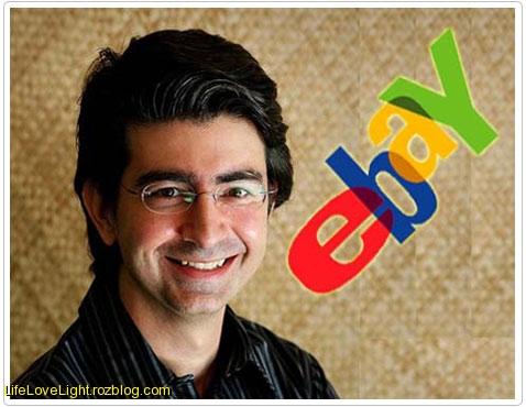 پییر امیدیار مالک ebay
