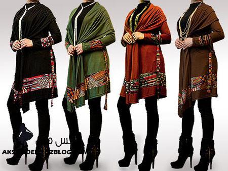 http://aksmodel.rozblog.com - رنگ مدل مانتو ايراني