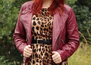 مدل کت و پالتو چرم زنانه 2014