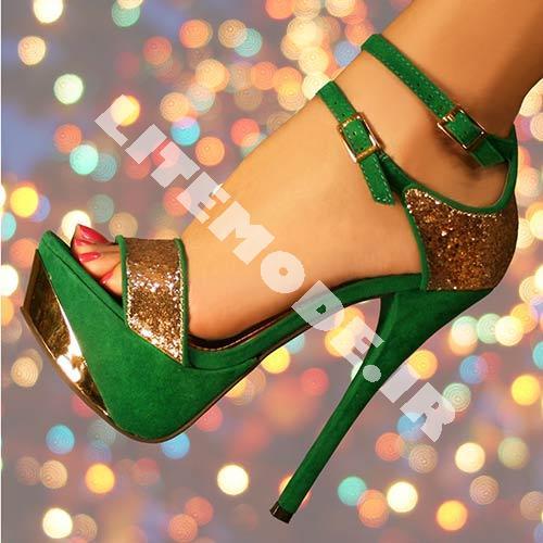 کفش مجلسی پاشنه دار