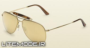 جدیدترین عینک آفتابی مردانه برند گوچی-عینک آفتابی مردانه gucci