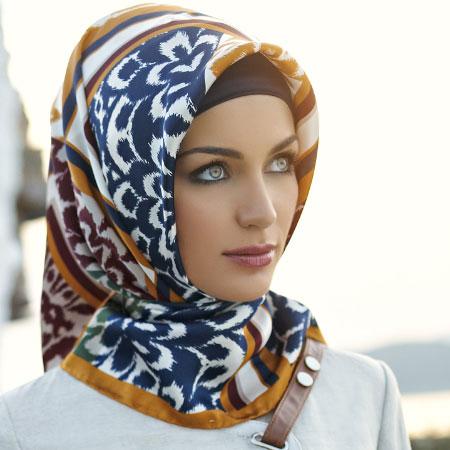 مدل بستن روسری-بستن روسری