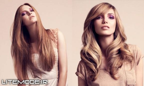 آرایش و مدل موی دخترونه 2014