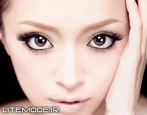 مدل ارایش چشم و سایه چشم ۹۲