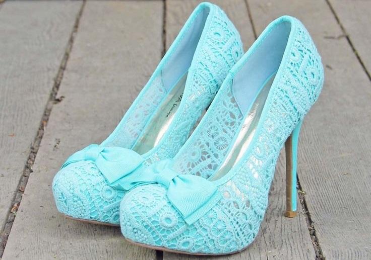 طرح کفش های زیبای دخترانه