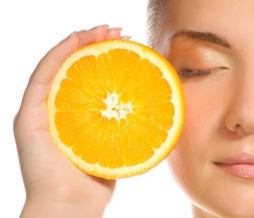 زیبایی پوست با ویتامین C