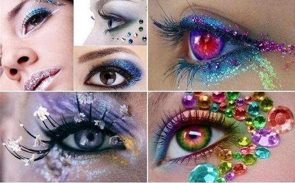 آرایش چشم و صورت زمستانی ۲۰۱۳