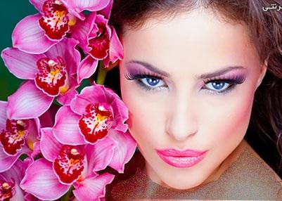 مدل آرایش صورت2014