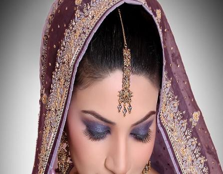 عکس آرایش عروس هندی