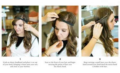 آموزش تصویری چند مدل مو تابستانه