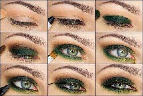 16 مدل آرایش چشم قدم به قدم-تصویری