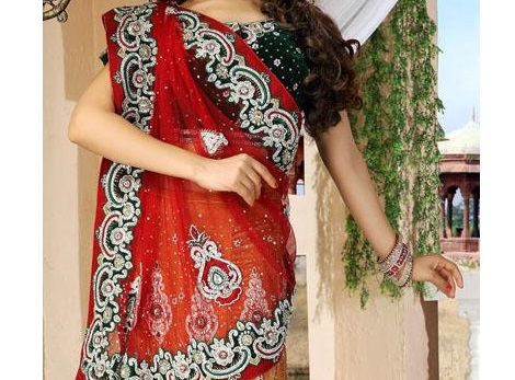 مدل ساری هندی-لباس هندی