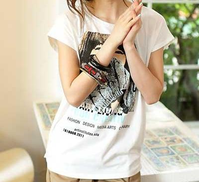 مدلهای تی شرت دخترانه