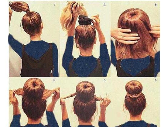 آموزش بستن موها