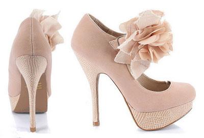 مدل جدید کفش پاشنه بلند دخترانه