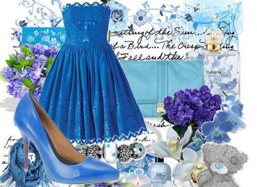 ست لباس نامزدی آبی