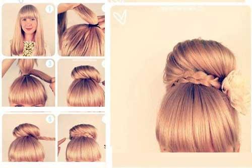 آموزش تصویری درست کردن مدل مو