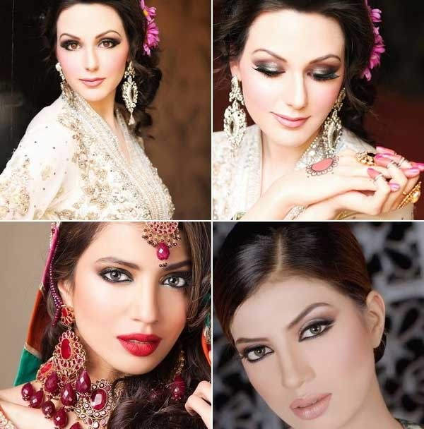 مدل آرایش هندی برای مجالس عروسی