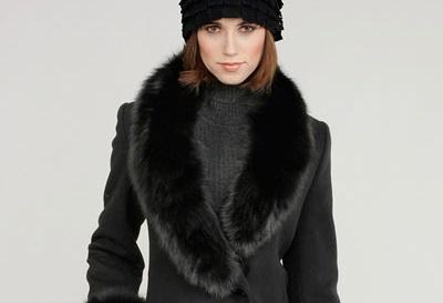 مدل پالتو و کلاه زمستانی زنانه
