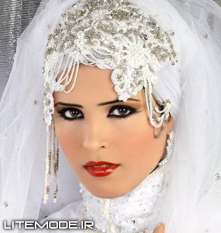 مدل تور عروس باحجاب