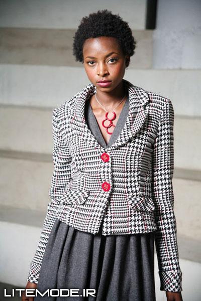 لباس زنانه همراه با الگو