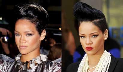 انواع مدل های مو ریحانا