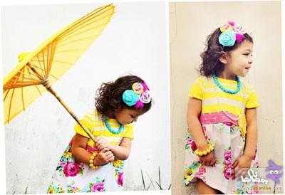 جدیدترین مدل لباس مجلسی کودکان