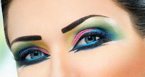 آموزش آرایش چشم,آرایش چشم