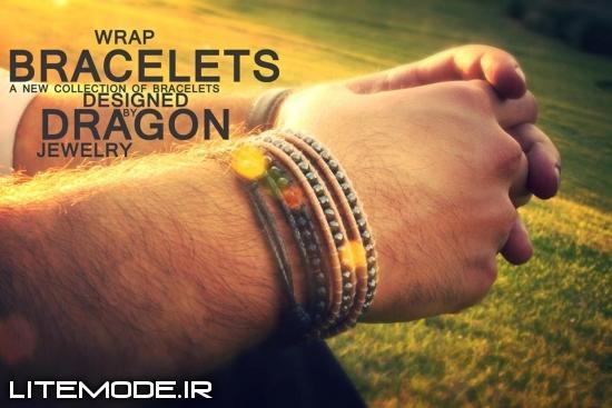 مدل دستبند و زیورآلات دراگون جولری