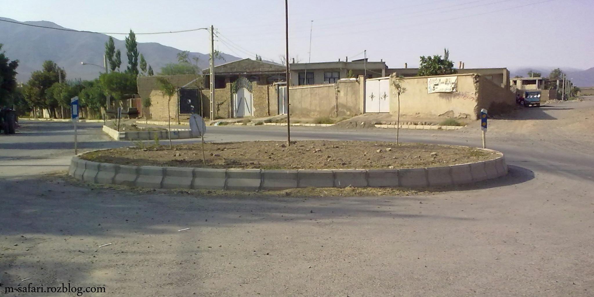 بلوار امام حسین قلعه نو خرقان
