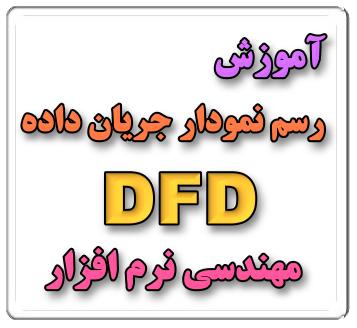 آموزش رسم نمودار جریان داده ، DFD  مهندسی نرم افزار