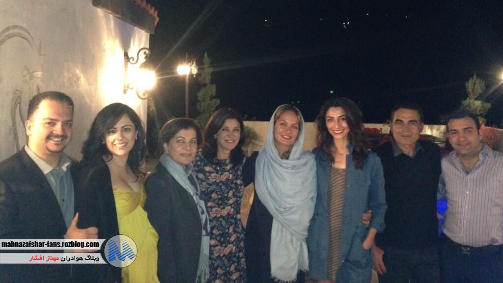 ویدئویی از فستیوال نور با حضور مهناز افشار