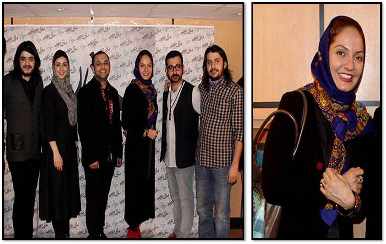 عکس های مهناز افشار در کنسرت گروه چارتار